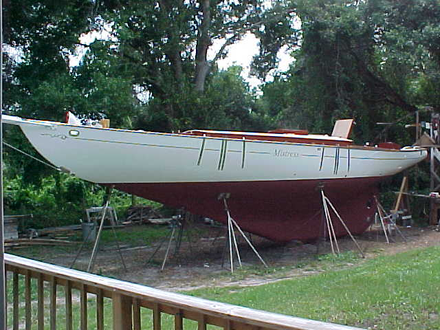 Schooner MISTRESS restored by Skip Joest.  Photo by K. Joest