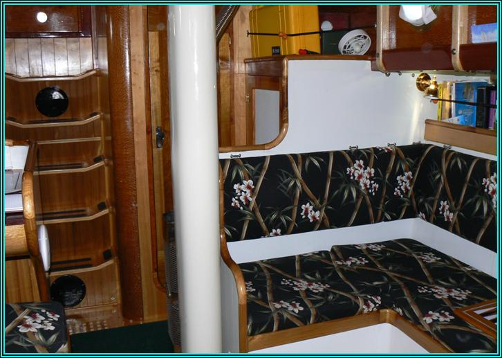 Schooner MISTRESS, Schooner for sale, interior of Schooner MISTRESS, K Joest
